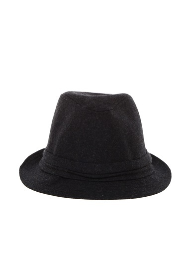 Bay Şapkacı Şapka Antrasit